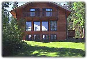 Mt. Robson Mountain River Lodge: main cabin
