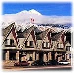 Astoria Hotel, Jasper, Alberta, street view