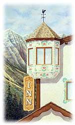 Whistlers Inn turret