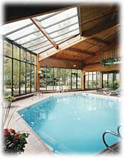 Chateau Jasper, has a beautiful indoor pool and whirlpool spa.