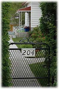 Through this gate to B&GAccommodation