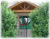 Raven House, Jasper, Alberta, Canada: front door.