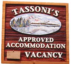 Tassoni Inn, Jasper, Jasper National Park.