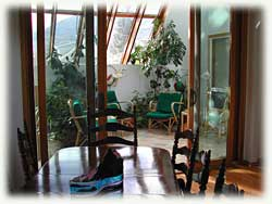 The Solarium Room of Jasper's Glass House