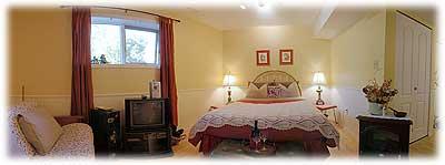 Jacquie's bedroom
