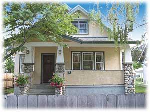 Juniper House: front.