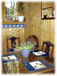 kitchen's dining table