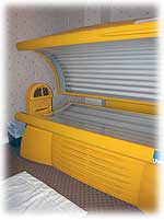 Jasper's Mountain Wellness Day Spa, tanning bed.