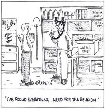 Deke's second cartoon.