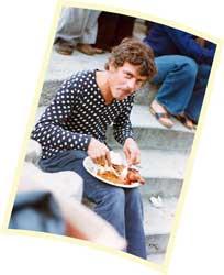 Mike Cameron feeding again.