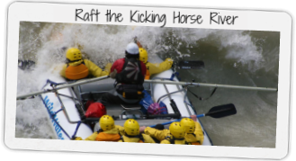Raft Banff's Kicking Horse River!