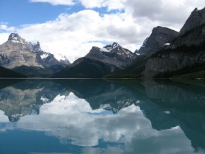 The serene, still waters of Maligne Lake wait to welcome you, an appropriately stunning end to a journey filled with stunning sights.